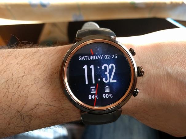 Asus Zenwatch 3 Illusion Watchface