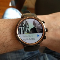 Asus Zenwatch 3 Spotify